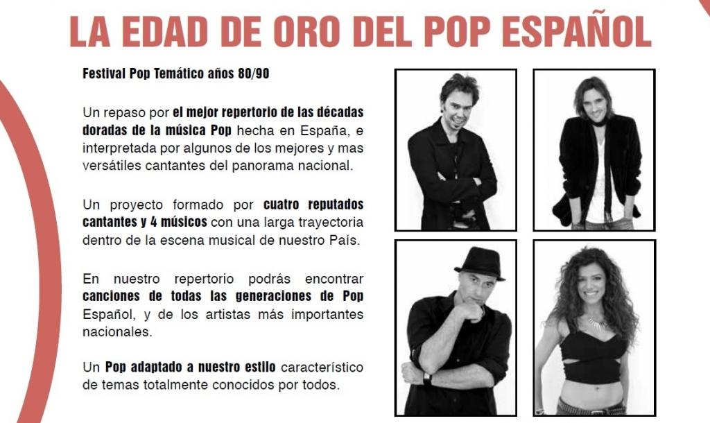 EDAD DE ORO POP ESPÑL PNG