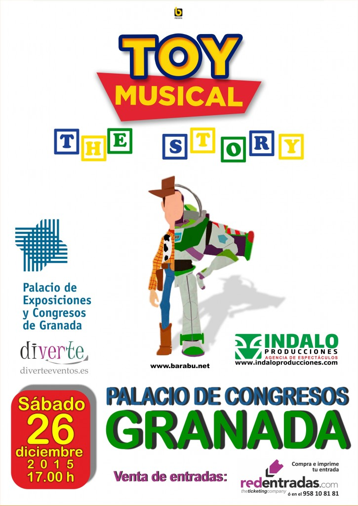 Toy musical The story, 26 dic. Granada