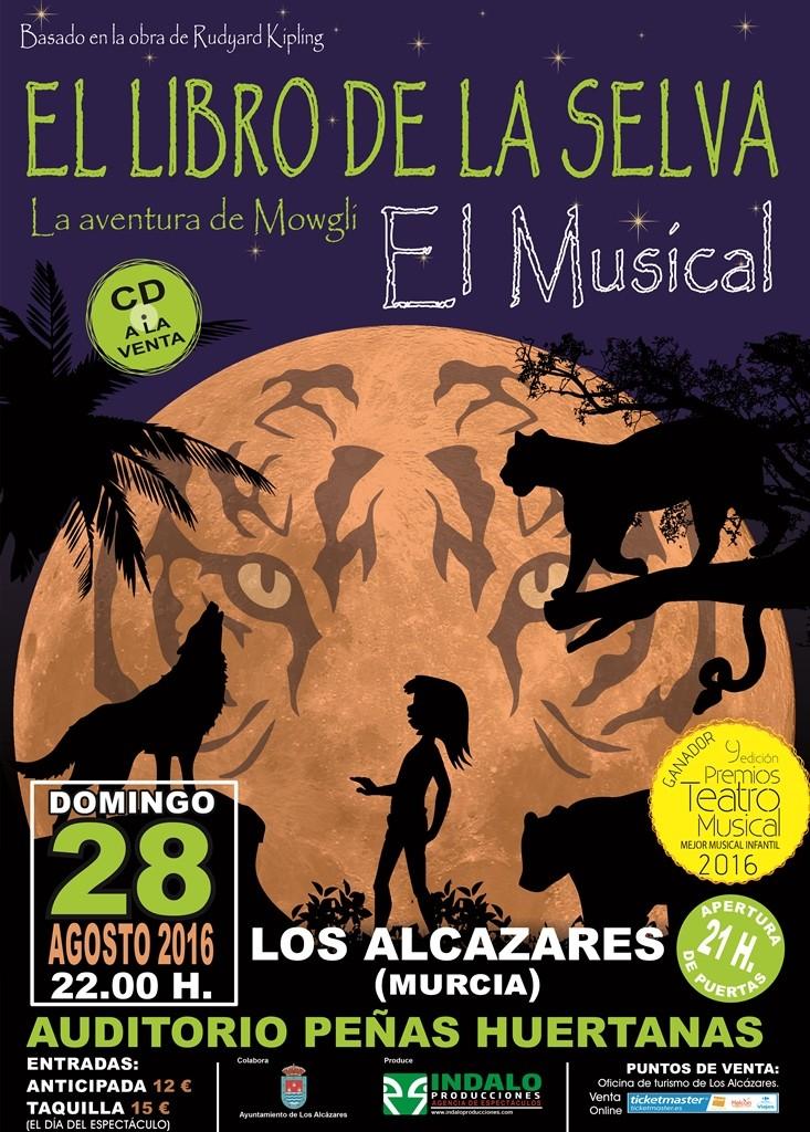 libro de la selva LOS ALCAZARES(MURCIA)
