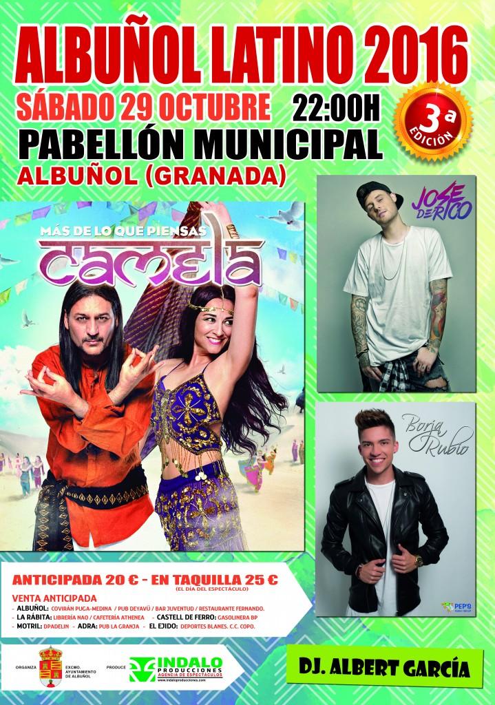 cartel albuñol latino 2016 60x52