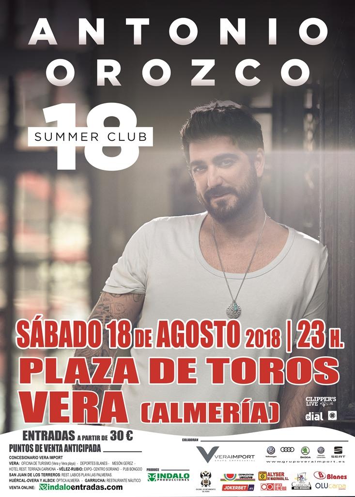 cartel Vera A.Orozco 2018